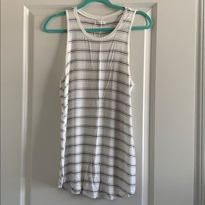 Maurices Long Striped Tank Top